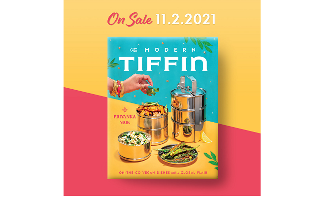 Chef Priyanka's Debut Cookbook 📚THE MODERN TIFFIN📚 Is Available for PRE-ORDER!