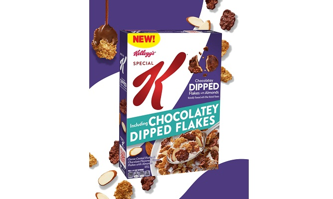 Kellogg's® First-Ever Dipped Cereal Flakes Make Their Delicious Debut With New Kellogg's® Special K® Dipped Chocolatey Almond