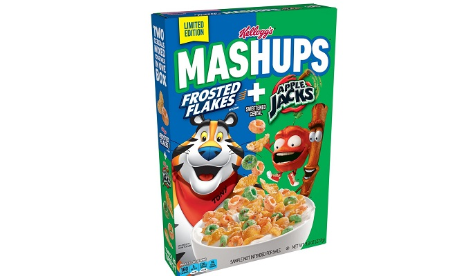 Kellogg's® MASHUPS™ Cereal Returns with an All-New Tasty Combo of Kellogg's Frosted Flakes® and Apple Jacks®