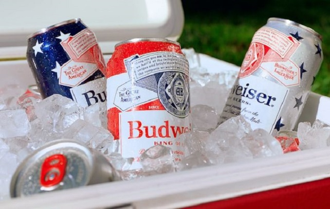 Budweiser Debuts New Patriotic Cans to Celebrate America and Kick off the Summer Season