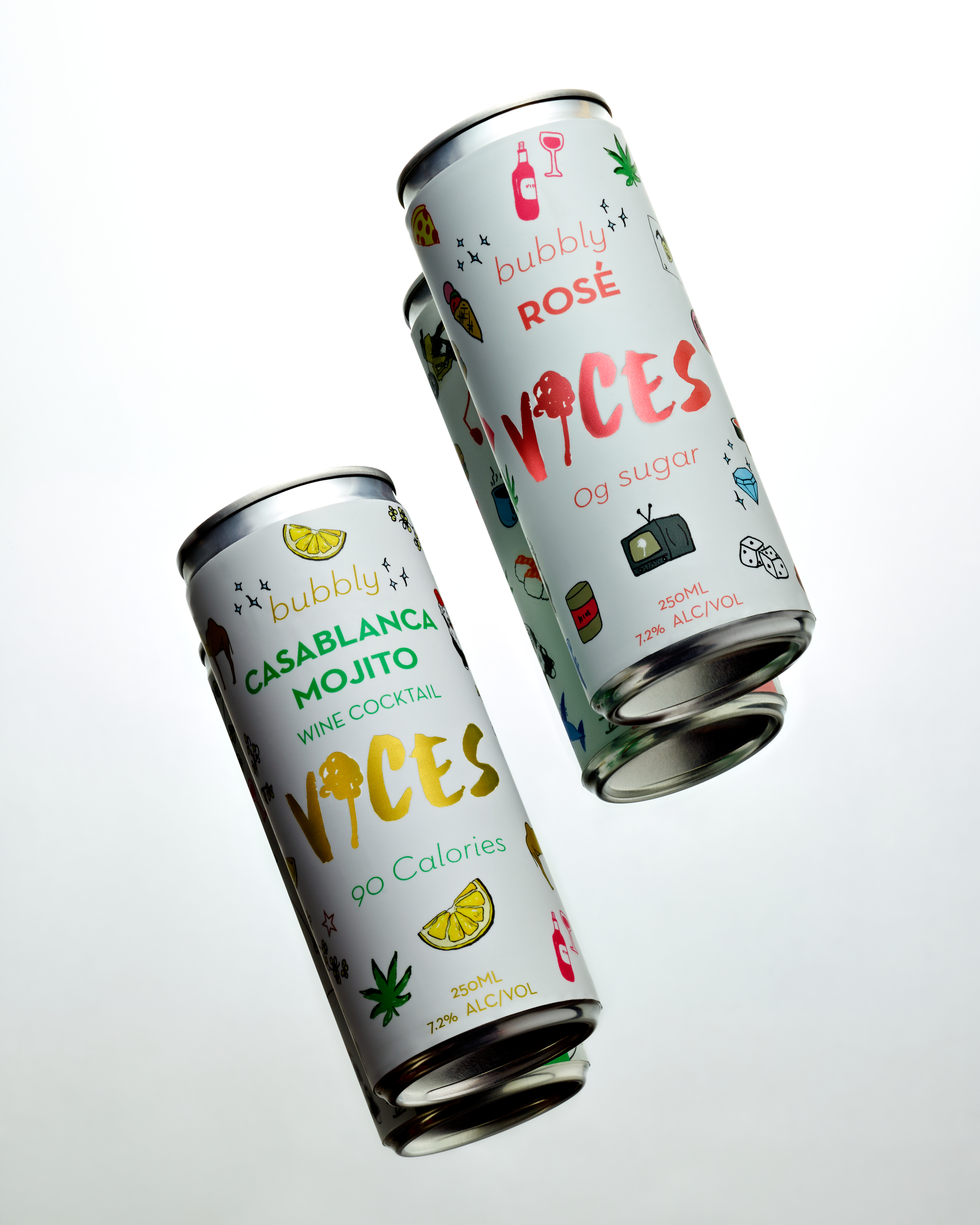 The Vice Wine releases a duo of Luxury Napa Valley Canned Wines