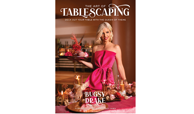 You can set your table--or you can 'scape it.