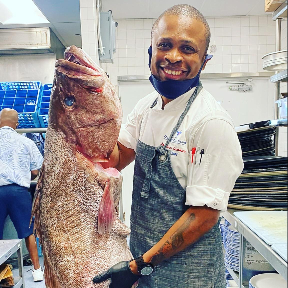 Chef Jonathan Lamour— Ocean Reef Club: Key Largo, FL.
