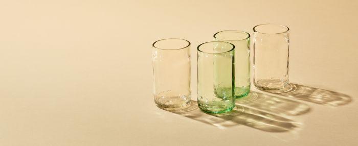 Sustainable Glassware
