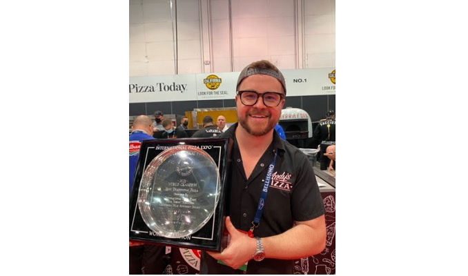 Andy's Pizza Brings Home the Gold at International Pizza Expo