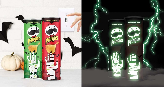 No Need to be Afraid of Snacking in the Dark This Halloween: Pringles® Debuts Limited-Edition Glow-in-the-Dark Cans