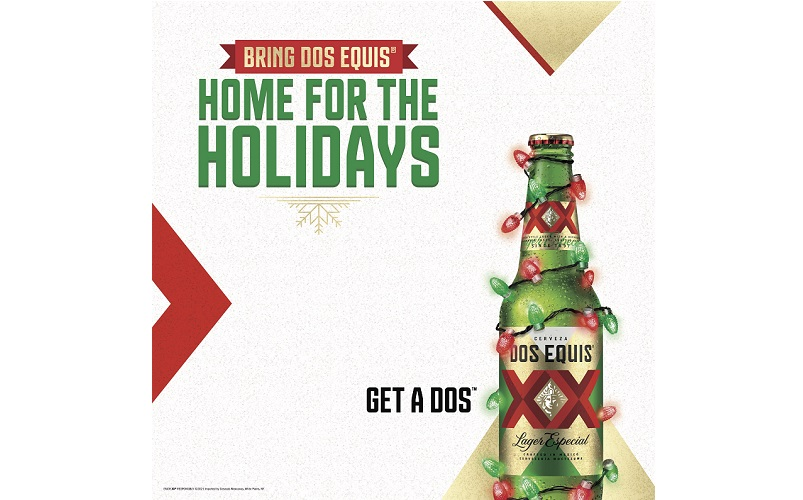 BRING DOS EQUIS® HOME FOR THE HOLIDAYS