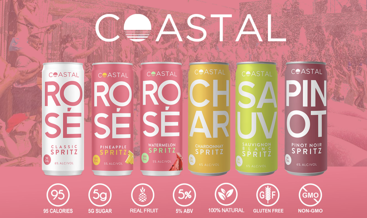 COASTAL SPRITZ PREMIUM LIGHT CANNED WINE CONTINUES TO BE CATEGORY LEADER AS THE BRAND CONTINUES ITS NATIONWIDE EXPANSION
