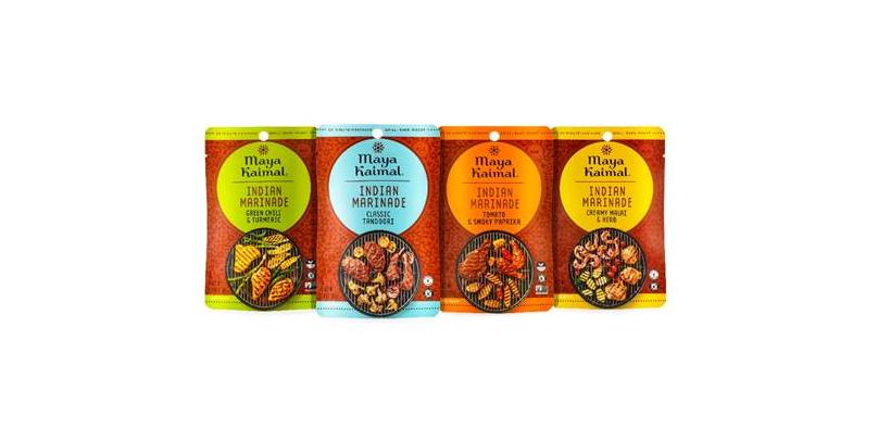 Maya Kaimal Launches New Indian Marinades and Chili Sauces on Amazon