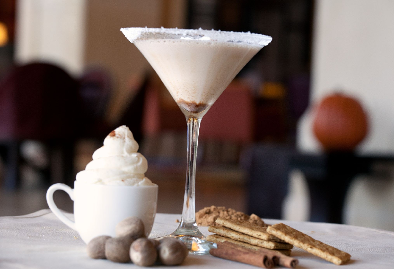 Sip on Spooky Spirits For Halloween With Ghostini and Pumpkin Spice Martini At Crooked Branch in JW Marriott San Antonio