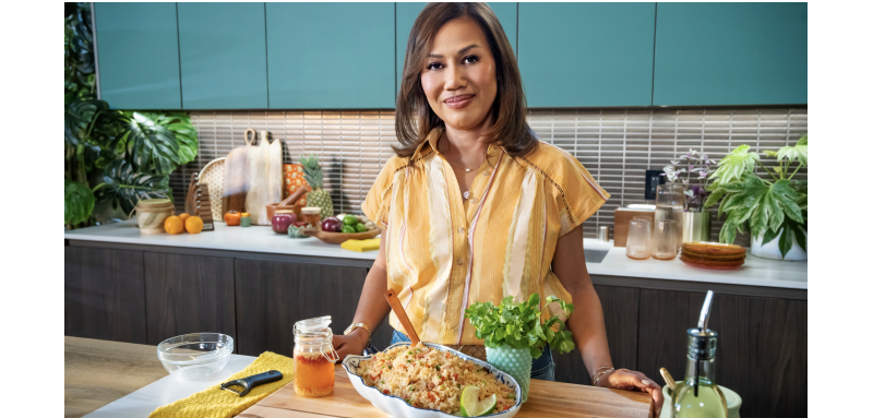 BEST-SELLING COOKBOOK AUTHOR PEPPER TEIGEN SHARES HER FAVORITE THAI RECIPES ON THE NEW SPECIAL GETTING SPICY WITH PEPPER TEIGEN